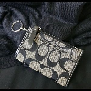 Classic Coach Keychain and Card Holder.